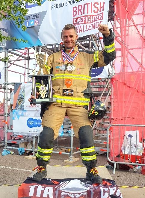 Siegerehrung British Firefighter Challenge 2018