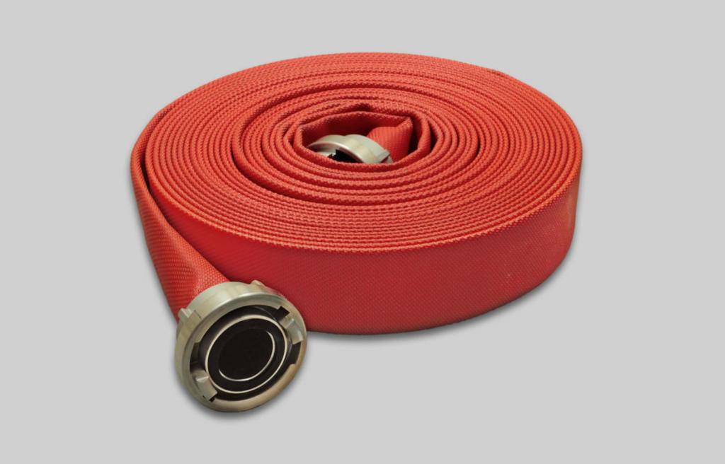 OSW Feuerwehrschlauch Syntex 2F und Syntex 3F PU rot