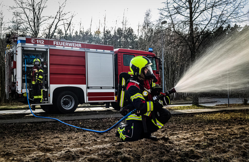 Interschutz 2020 - Waldbrandbekämpfung