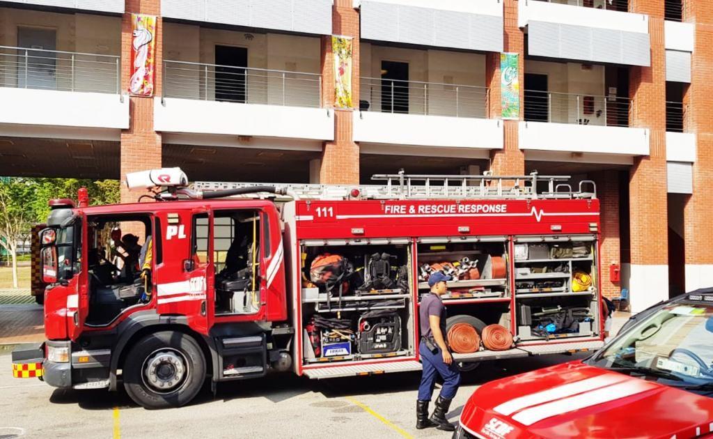 Feuerwehr Singapur