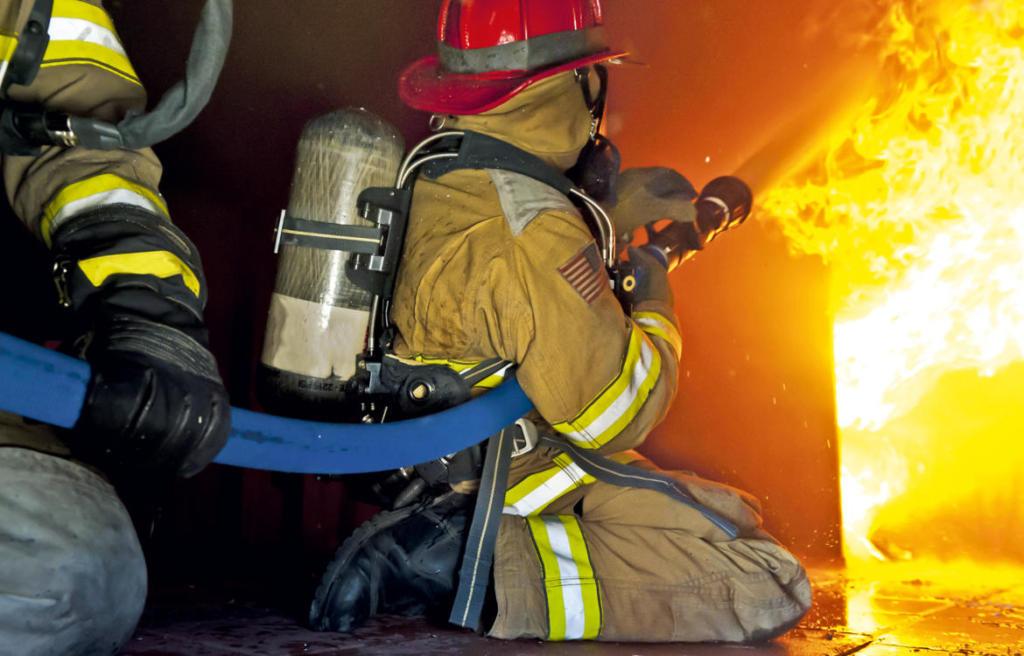 OSW Feuerwehrschlauch Anwendung