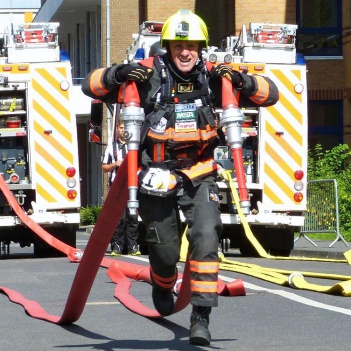 Joachim Posanz Toughest Firefighter Alive