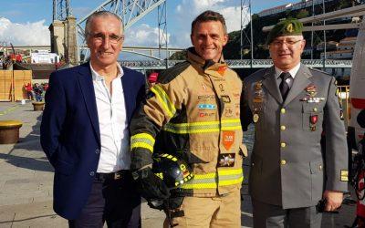 Letzter Firefighter Wettkampf der Saison 2019 in Porto