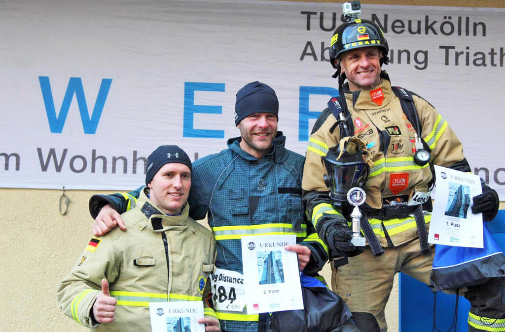 20. Treppenlauf für Sportler und Feuerwehrleute