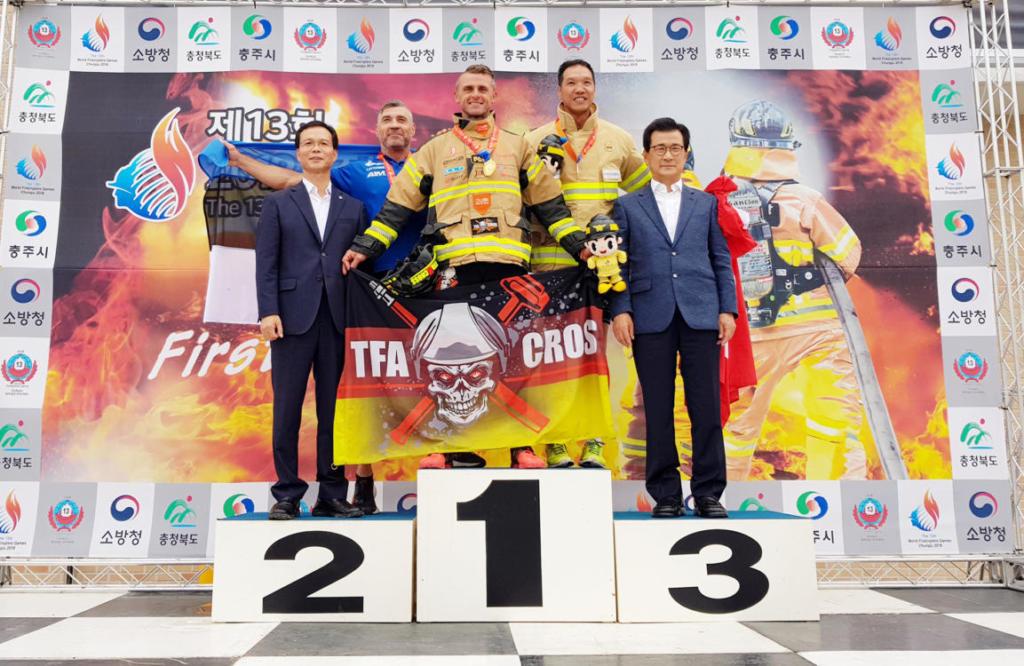 Firefighter Posanz verteidigt Weltmeistertitel