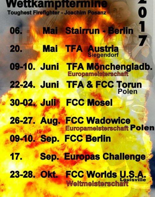 Wettkampfsaison 2017 FireFighter
