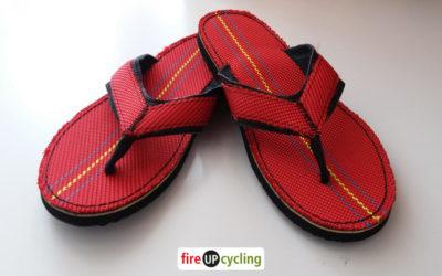 fireUPcycling – Wiederverwertung von Feuerwehrschläuchen