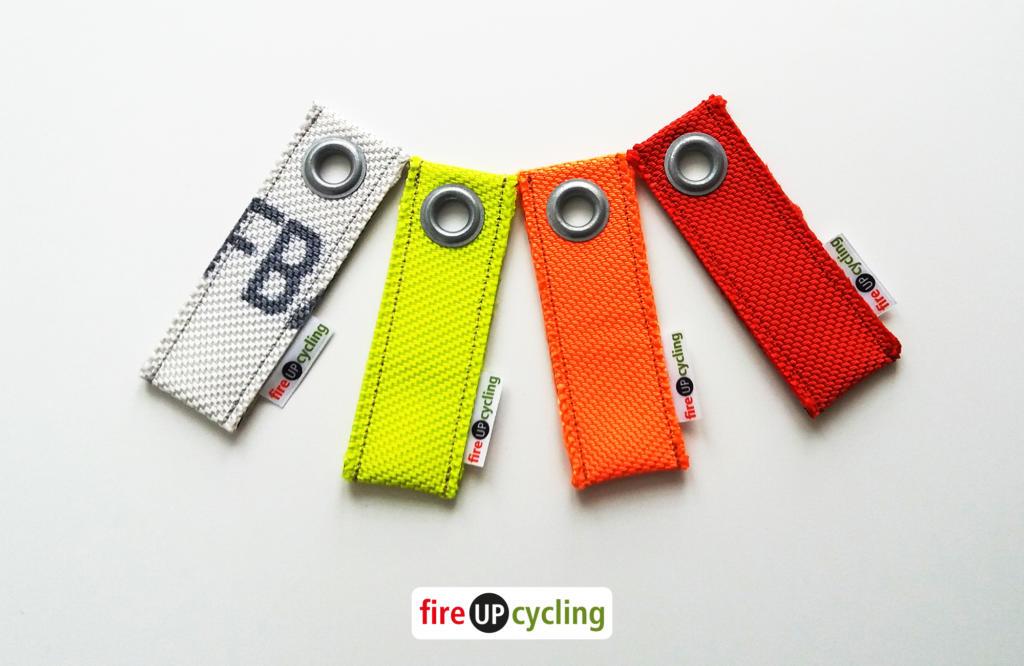 fireUPcycling - Schlüsselanhänger aus Feuerwehrschlauch