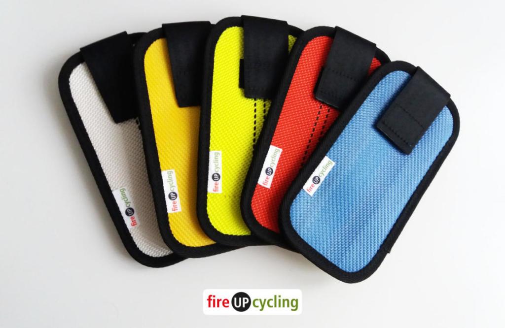fireUPcycling - Handyhülle aus Feuerwehrschlauch