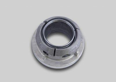 Klemmring-Kupplung mit 3-teiligem Klemmring-Einband