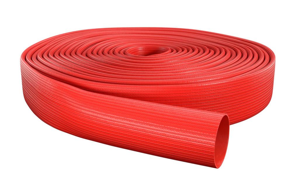 OSW Feuerwehrschlauch Syntex Unidur rot